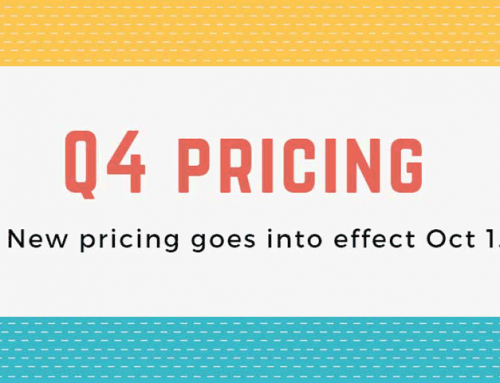 Q4 Pricing Now In Effect
