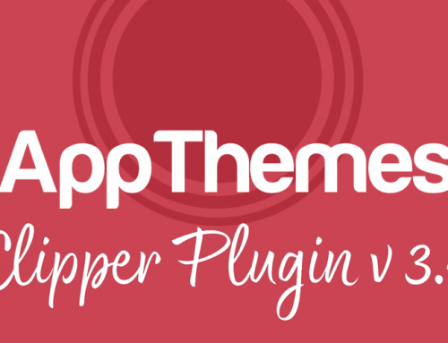 AppThemes Clipper Plugin 3.4 Released